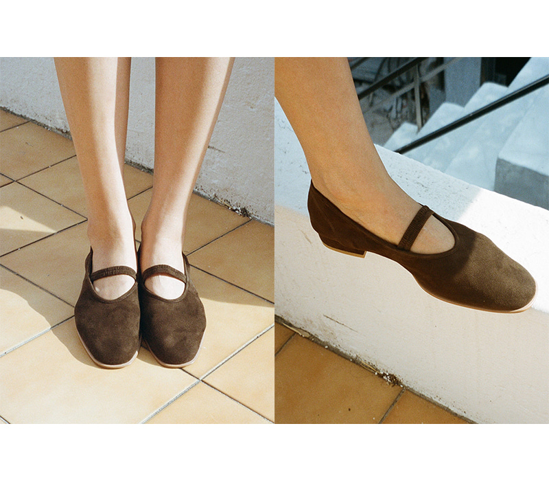 [baar] Mari Middle Flat_dark brown