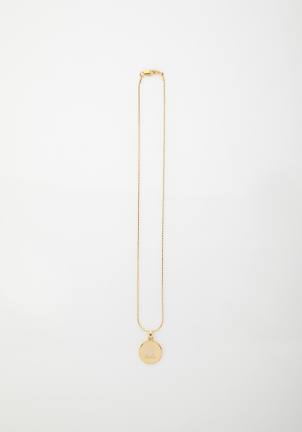 Bell Necklace (circle)