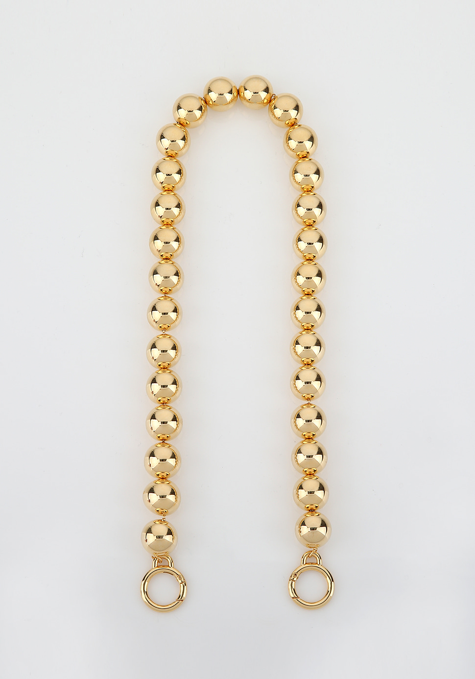 Ball Chain Strap (gold)