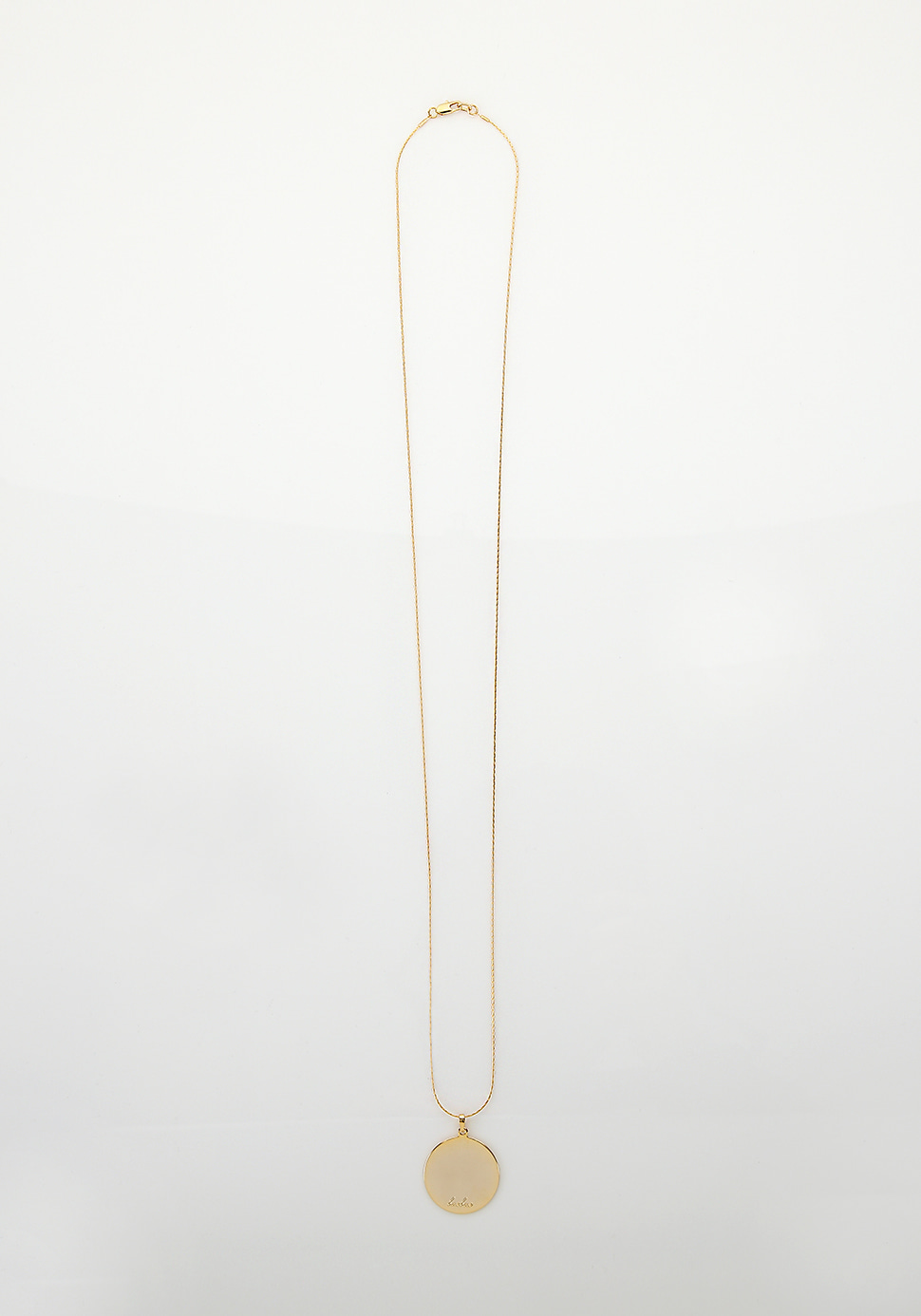 Bell Long Necklace (circle)
