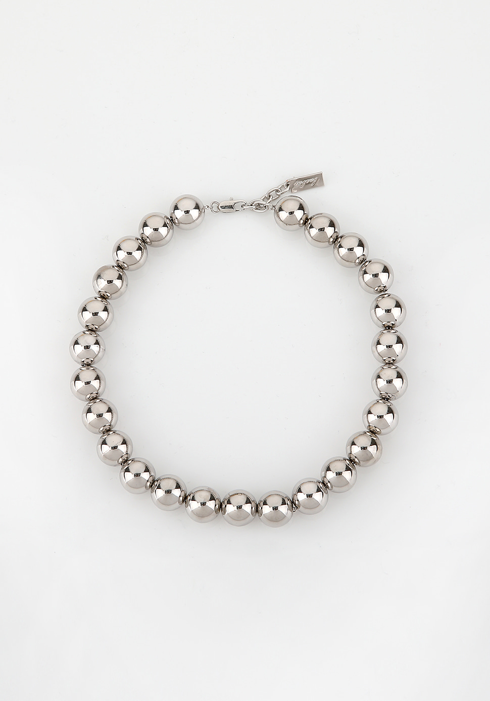 Ball Necklace (silver)